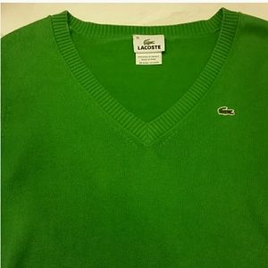 Great used condition! Lacoste lite weight sweater